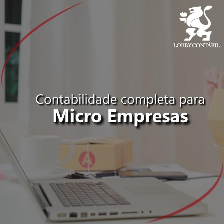 Contabilidade para micro empresas