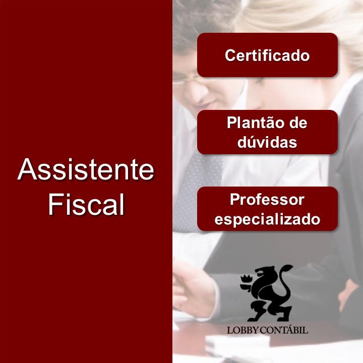 Cursos de assistente fiscal em sp